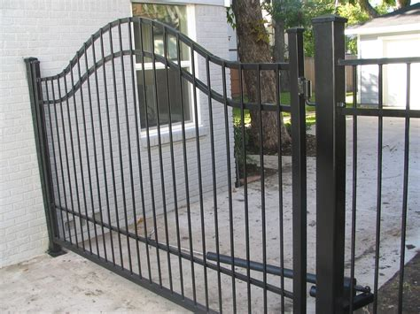 swinging gates for driveways automatic gate pictures texas best fence