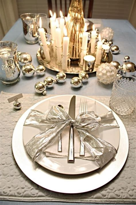 Table Setting Ideas by Festive Season Trends 2012 Christmas Table Decorations