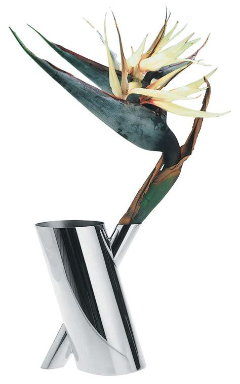 vasi alessi scopri vaso tronco acciaio di alessi made in design italia