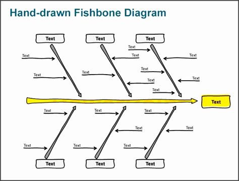 5 Blank Ishikawa Diagram Template Sletemplatess Sletemplatess Editable Fishbone Diagram Template