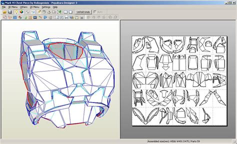 halo 4 pepakura files foam insok