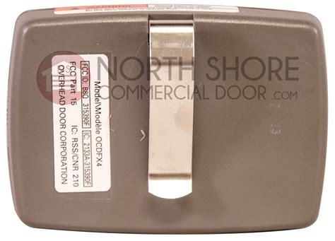 4 Button Garage Door Opener Remote by Overhead Door Four Button Garage Door Opener Remote Ocdfx4 S