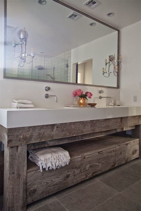 barn board bathroom vanity barn board bathroom vanity my web value