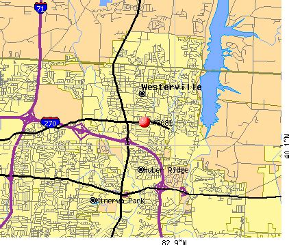 Westerville Ohio Map by 43081 Zip Code Westerville Ohio Profile Homes