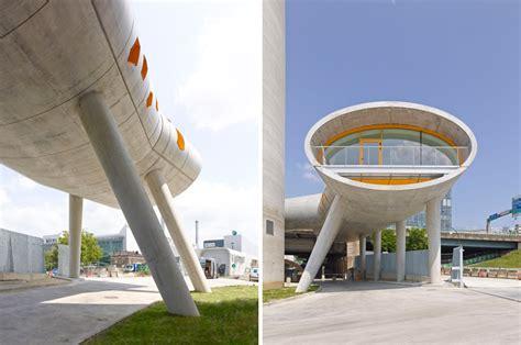 designboom paris vib architecture arranges concrete cylinders for silo 13