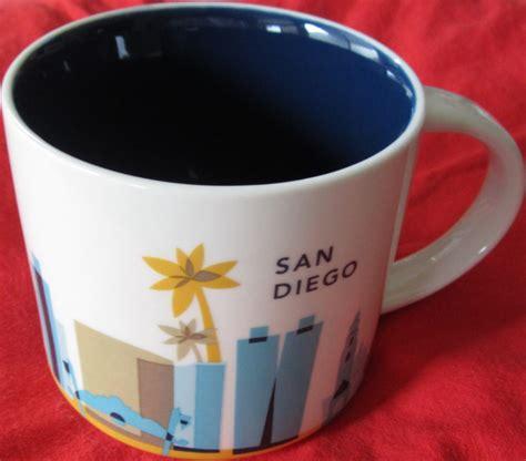 2013 starbucks you are here starbucks 2013 you are here collection san diego 14 ounce collector coffee mug new historical