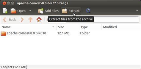 tutorial tomcat linux how to install apache tomcat 8 on ubuntu 13 10 saucy 32