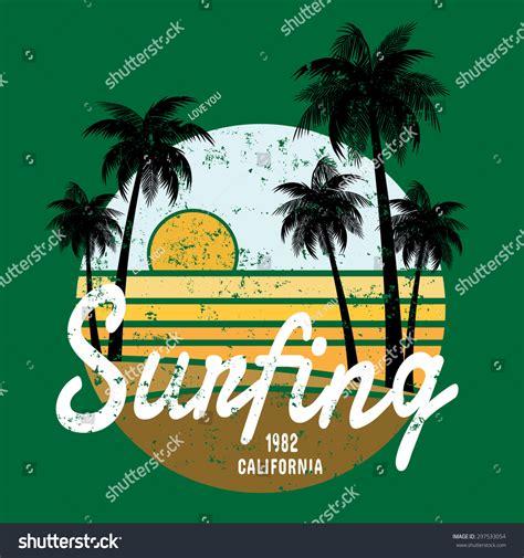 pattern surf graphic t shirt california surf illustration vectors t shirt graphics