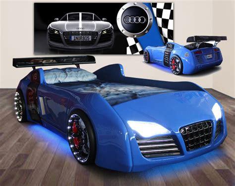 blue race car bed audi race car bed blue