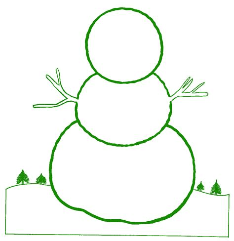 snowman cut out template snowman blank new calendar template site