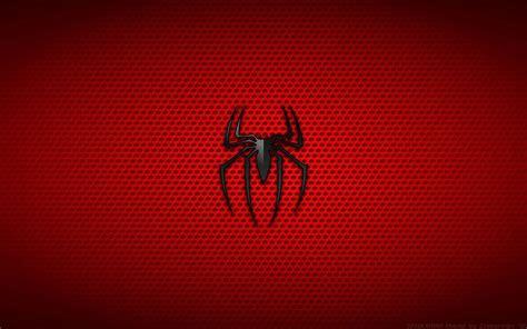 wallpaper background spiderman spiderman logo wallpapers wallpaper cave