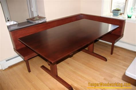 built in dining table and bench dining table built in dining table and bench