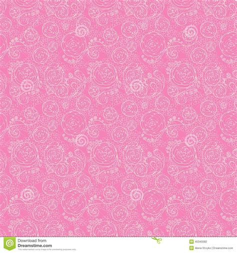 pink lace pattern lacy seamless pattern stock vector image 45345582