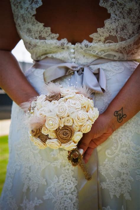 Wedding Aisle Bouquets by Fabric Wedding Bouquet Large Alternative Toss Table