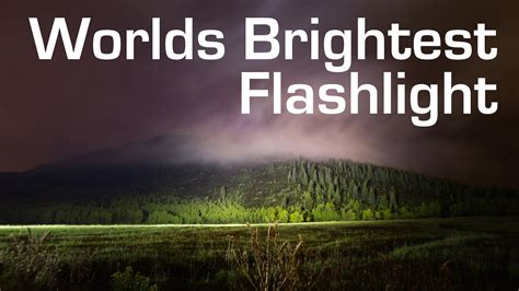 brightest light in the world 1000w led flashlight worlds brightest 90 000 lumens