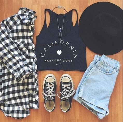 california clothes clothing fashion flannel