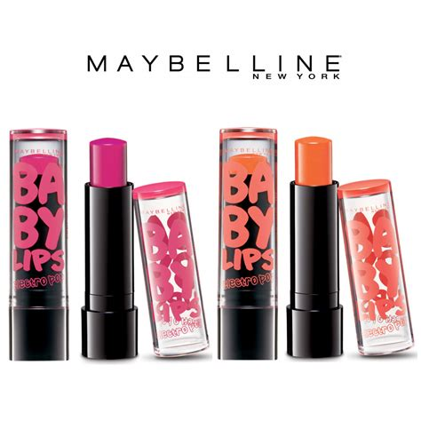 Maybelline Baby Di Alfamart maybelline baby electro pop lip balm pink shock or