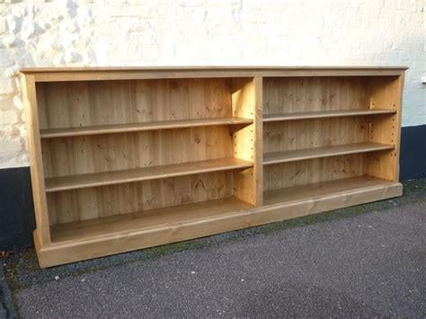 Long Low Bookcase Wood Long Bookcase Wood Projects Pinterest