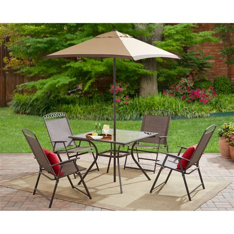 mainstays belden park 4 piece sofa set patio furniture at furniture complete