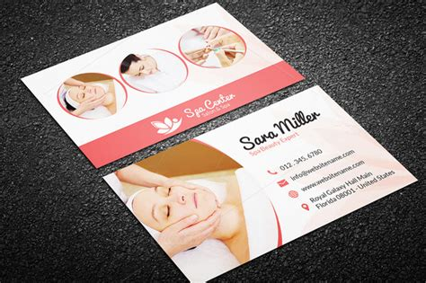 therapy business card psd template creative business card bundle 50 in 1 graphic