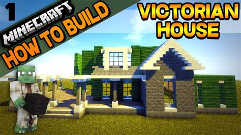how to build a victorian house minecraft victorian house how to build e01 youtube