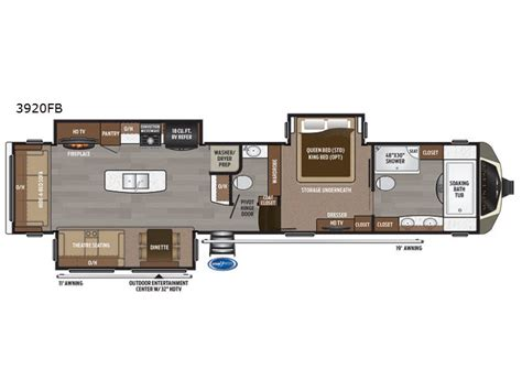 5th wheel rv floor plans montana fifth wheel