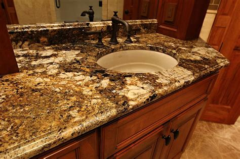 granite countertops for bathroom vanities 16 best images about counter top materials on pinterest