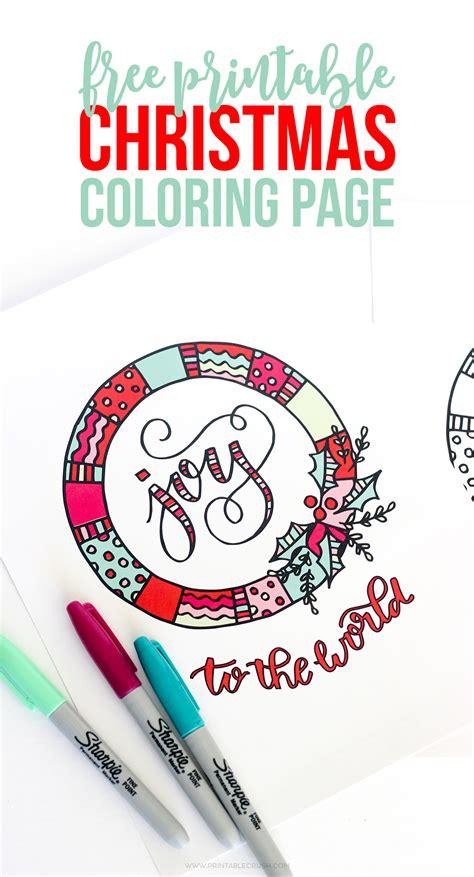 fun free christmas printables roundup for 2016 printable christmas coloring page