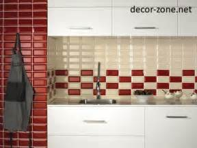 Red Kitchen Backsplash Tiles 20 kitchen backsplash tile ideas in metro style