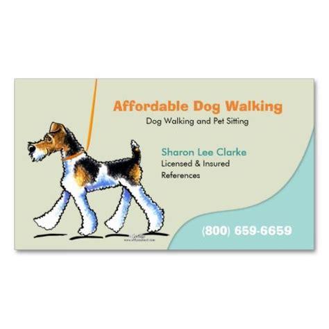 Walking Business Card Template by Walker Pet Business Wft