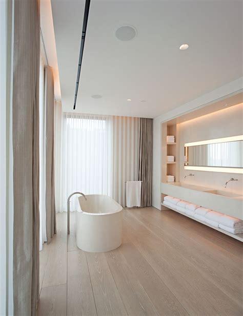 Design Badezimmer Vanity by Pawson Schrager Apartment Moderne Badezimmer