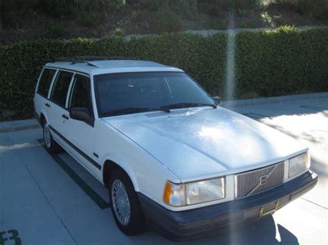 how petrol cars work 1992 volvo 740 electronic toll collection volvo 740 wagon 7 seats non turbo 96k california car 1 owner for sale volvo 740 1992 for
