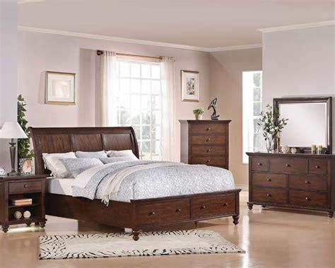acme bedroom set acme bedroom set w storage aceline ac21380set