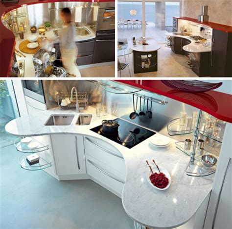 curved countertop round out curved countertops add kitchen surface space