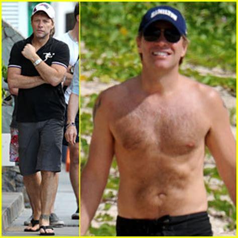 Shirtless Jon Bon Jovi Still At 45 by 2011 December Just Jared Page 32