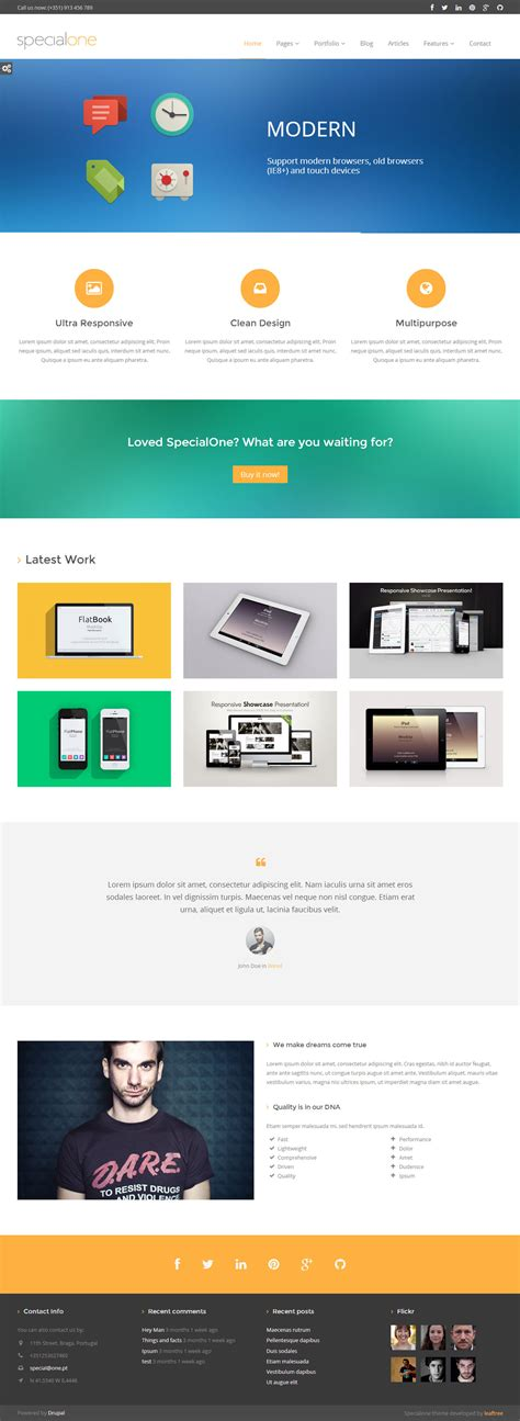 bootstrap templates for drupal free 10 best responsive bootstrap drupal themes in 2013