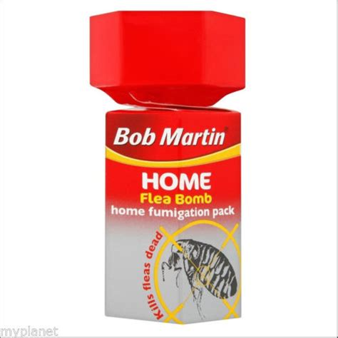 bob martin home flea bomb fumigation pack safe pet cat