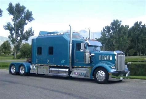Trucks With Big Sleepers by