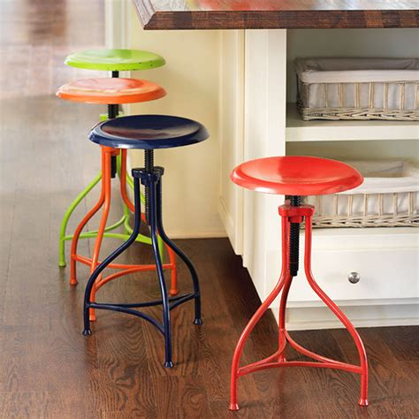 Color Bar Stools by You Spin Me Right Baby Right Gather
