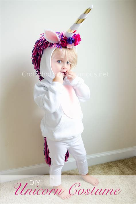 diy costumes craftaholics anonymous 174 diy unicorn costume tutorial