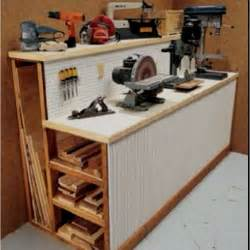 work bench with storage tool shed work bench storage for scrap wood and tools