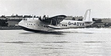 flying boat accidents crash of a short s 23 empire flying boat in ouroux 5