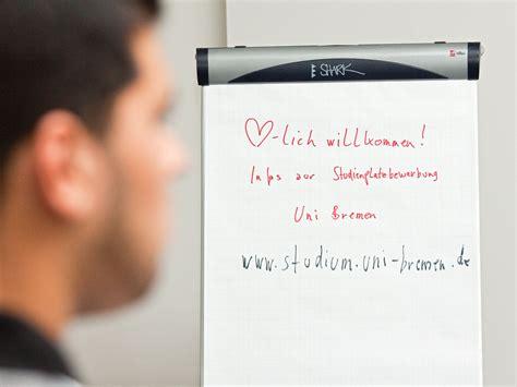 Bewerbung Uni Bremen bewerbung bildungsausl 228 nder