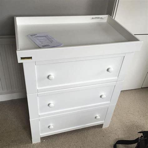 Mothercare Baby Changing Dresser Table Assembly Flat Mothercare Changing Table