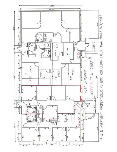 university floor plans 4817 university avenue suite c r n investments