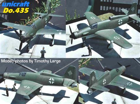 kit plans listed by manufacturer model model luft 46 models dornier do 435