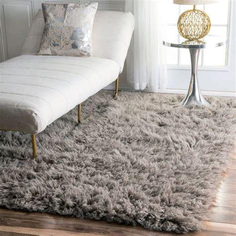 nuloom hand woven flokati wool shag rug rugs  living