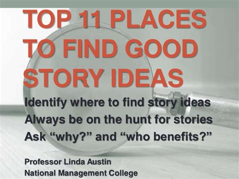 good themes in stories top 11 places to find good story ideas jnl 1102