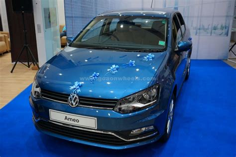 volkswagen starting price volkswagen ameo drives into goa with a starting price tag