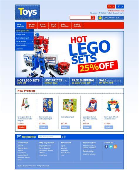 education theme magento toys for happy kids magento theme 42901